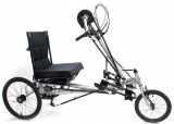 semi-recumbent handcycle