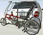 tricycle/recumbent hitch rack