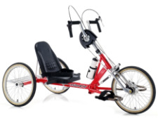 recumbent handcycle