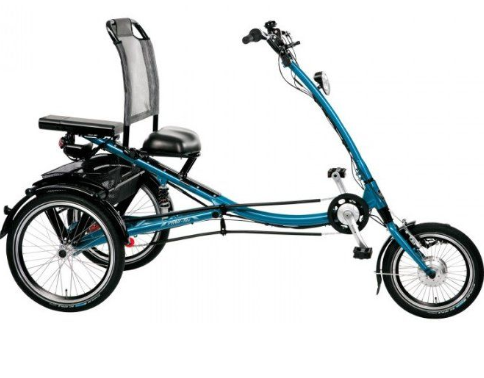 Recumbent tricycles are a different, sit back and grin, kind