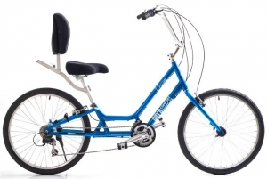 The Day 6 bicycle is a semi-recumbent that is tailor made for boomers