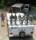 pop up camper rack