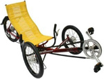 Greenspeed folding recumbent